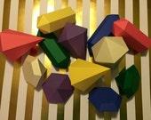 Custom Order - Birthday Party Gemstones - Set of 12