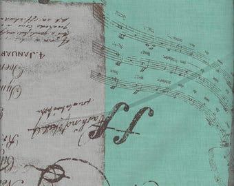 Musical Score  (Color C) by Suzuko Koseki for  Yuwa of Japan