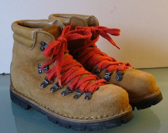 Vintage Made in Italy Hiking Boots