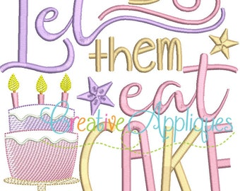 Birthday Girl - Let Them Eat Cake - Custom Tee 101