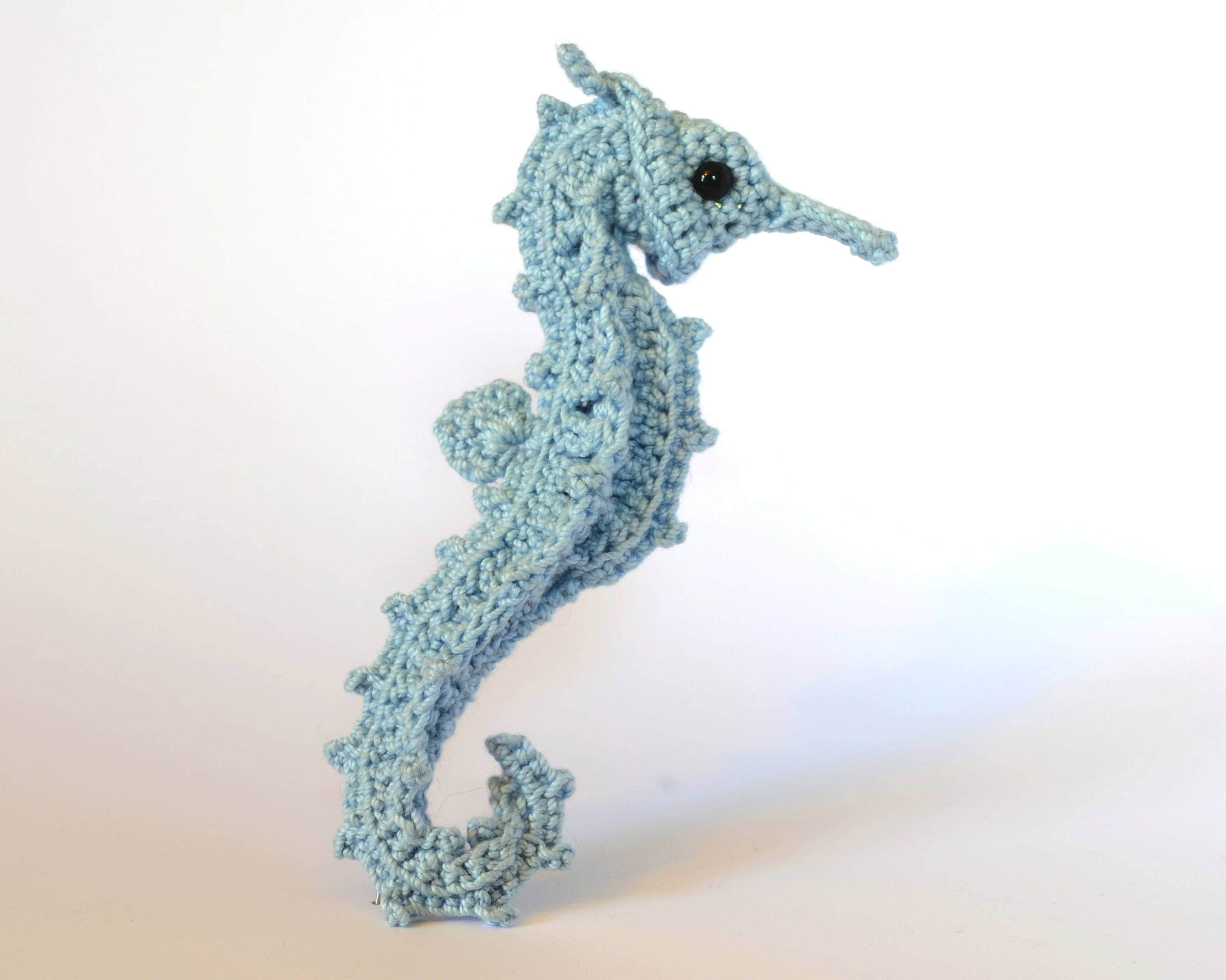 Crochet pattern post modern post stitch seahorse with variation this is a digital file bankloansurffo Image collections