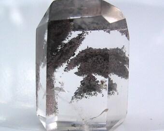 Lodolite Quartz Crystal Quartz Point Polished Quartz Crystal Collection Metaphysical Mineral Specimen Rock Collection Unique Gift