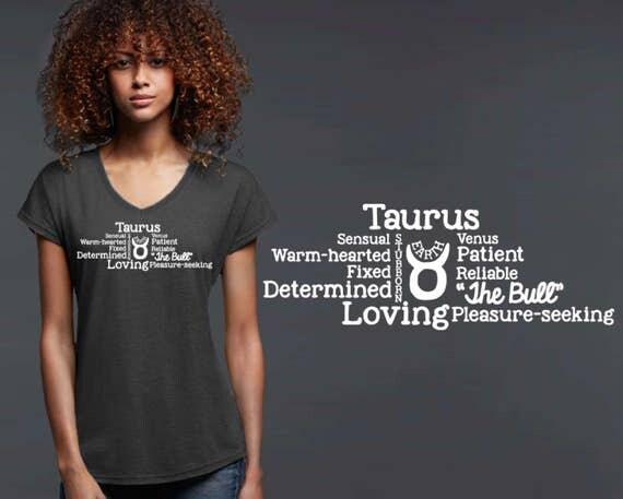 Taurus | Zodiac T-shirt | Taurus Tee | Taurus T-shirt | Zodiac Tee | Custom T-shirts | Inspirational T-shirt | Korena Loves