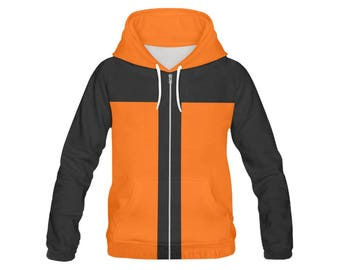 naruto uzumaki all over hoodie print Men's All Over Print Hoodie FREE SHIPPING world wide!