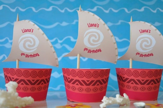 Clever image for moana sail printable