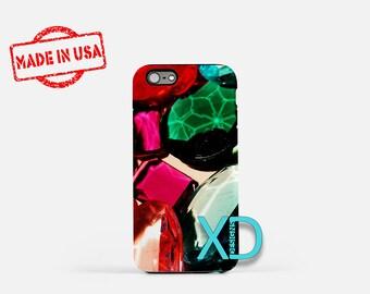 Jewels iPhone Case, Exquisite iPhone Case, Jewels iPhone 8 Case, iPhone 6s Case, iPhone 7 Case, Phone Case, iPhone X Case, SE Case New