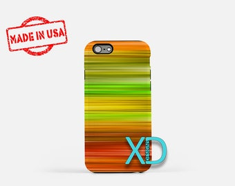 Abstract Lines iPhone Case, Abstract Colors iPhone Case, iPhone 8 Case, iPhone 6s Case, iPhone 7 Case, Phone Case, iPhone X Case, SE Case