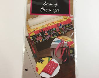 The It All Goes Here Sewing Organizer Pattern - A Go Fish Pattern by Fishsticks - Fast Fun Way to Organize Your Sewing Room -  DIY Organizer
