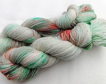 Handpainted Sock Yarn, 75 Wool  superwash, 25 Nylon 100g 3.5 oz.  Nr. 167