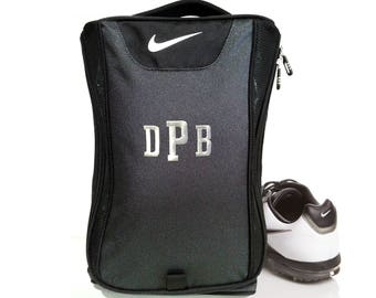 6 Shoe Bags Nike Brand Golf Shoe Bag, Groomsmen Gift, Golf Bag, Personalized Golf Bag, Personalized Golf Shoe Bag, Nike Shoe Bag, Nike Bag