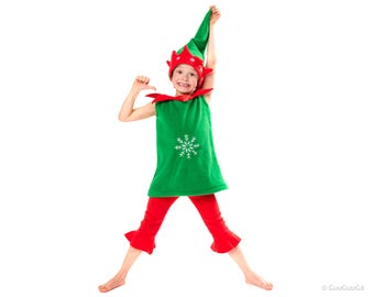 Christmas Elf Costume For Kids