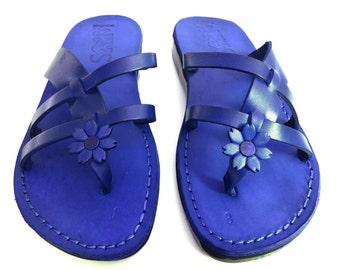 Leather Sandals, Leather Sandals Women, Sandals, Women's Shoes, NARCISSUSS, Flip Flops, Biblical Sandals, Jesus Sandals, Jerusalem Sandals
