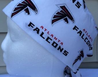 Atlanta Falcons scrub cap  riding cap  Falcons chemo cap
