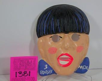 1960's Moe (3 Stooges) Halloween Mask