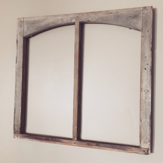 vintage window frame without glass