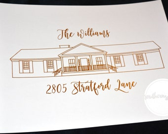 Southern Surcees Customized House Foil Print