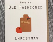 Old Fashioned Christmas Greeting Card)