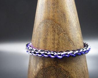 Midnight JPL Chainmaille Bracelet