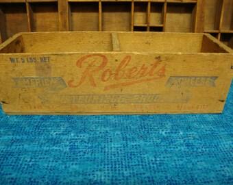 Roberts Wood Cheese Crate/Box