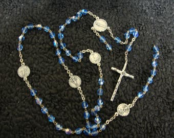 Our Lady of the Snows, Catholic Jewelry, Prayer Beads