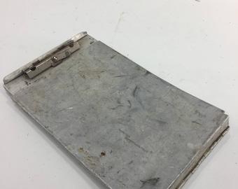 Industrial Clipboard Vintage Sandwich Style, metal Board