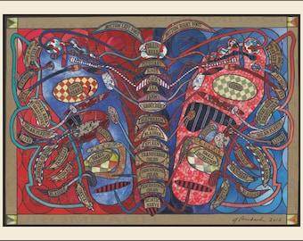 Feet Meet Art - Reflexology Chart
