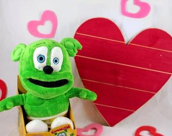 Sitting Talk-Back Gummibär (The Gummy Bear) Plush Toy
