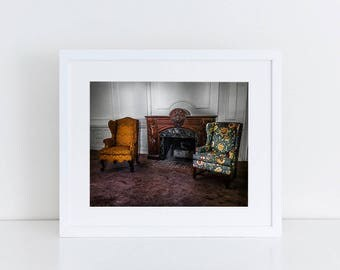 Sitting Room - Urban Exploration - Fine Art Photography Print