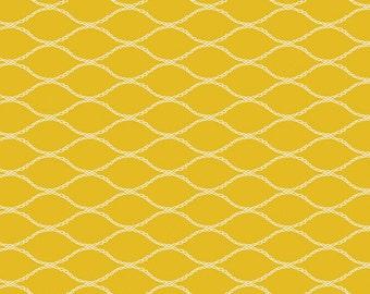 Baby Bedding Crib Bedding - Gold Yellow Net Print - Baby Blanket, Crib Sheet, Crib Skirt, Changing Pad Cover, Boppy Cover