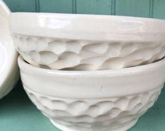 Porcelain Bowls in Summer White
