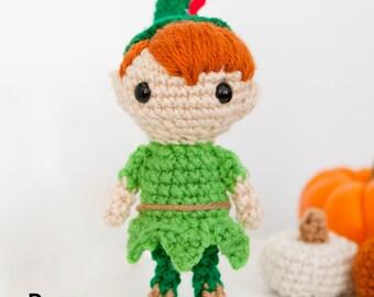 Amigurumi Peter Pan