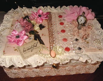 Handmade decorated box