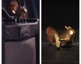Doctor Who Clockwork Squirrel