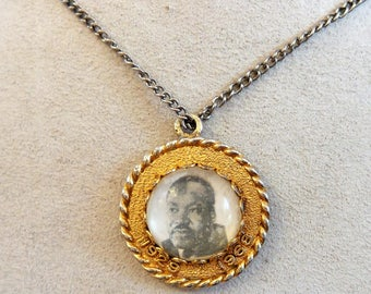 Vintage Martin Luther King 1960's Civil Right Movement Necklace