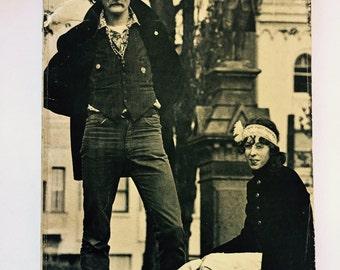 Trout Fishing in America, 1969, Classic Hippie Lit, Richard Brautigan, San Francisco Cover, Trippy Short Essays,