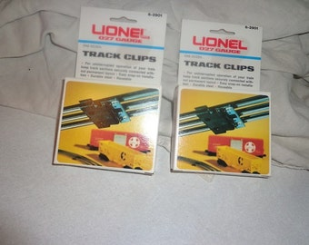 Lionel track clips in boxes 027 track