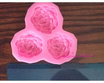 Rose mold tripple rose