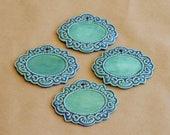 Set of 4 Victorian Garden Markers