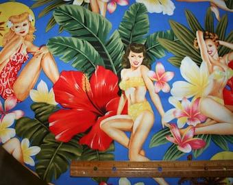 Fabric, Alexander Henry, Island Girls