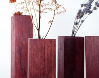 Purple Heart Vase