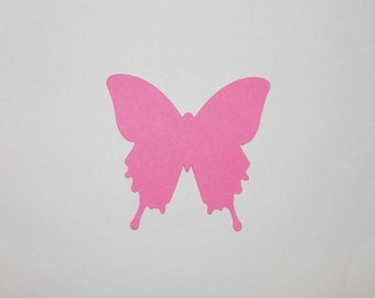 Butterfly Die Cut Paper Punch Conffetti 25 pieces - You Choose Color