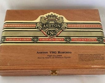 Ashton VSG All Wood Cigar Box - You Select