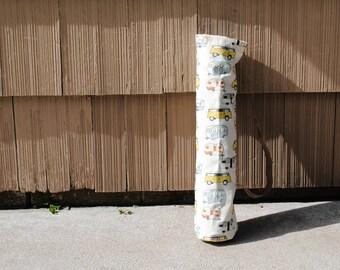 Yoga Mat Bag Yoga Tote Fitness Mat Tote Pilates Bag Retro Vans Trailers and Campers