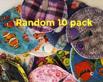 Random 10 pack G-tube pads.