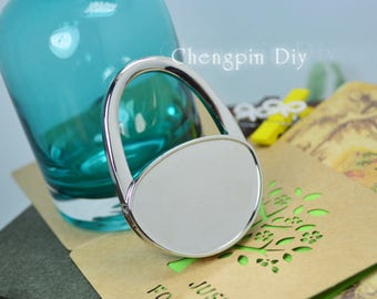 Oval Handbag Hanger   Glass Table Bag Hook   Personalized Purse Hook  Folding Holder  Customized