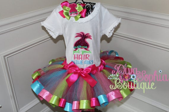 Hair up Tutu Costume for Girls