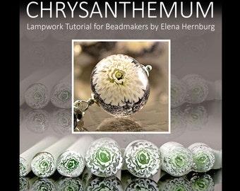 Chrysanthemums. Tutorial for lampworkers.