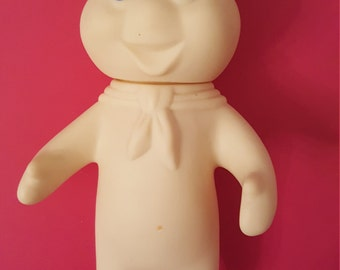 1971 Poppin' Fresh the Pillsbury Doughboy Icon Advertising Rubber Doll
