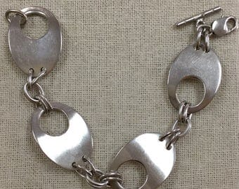 Vintage Mexico 925 Sterling Silver  Chain/Link Bracelet!!!