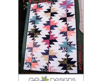 "Pattern ""Nellie Quilt"" by Gudrun Erla / GE Designs (173) Paper Pattern"